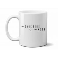 'The Dark Side of the Moon' White Mug